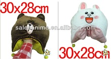 Wholesale Anime Takara Tomy LINE Characters Bear/Takara Tomy LINE Characters Rabbit Plush Hat