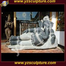 Indian god Lord Ganesha statue of lying AMSN-C029