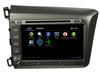 For Honda car 2 din 8 inch Android in dash car dvd player with GPS Bluetooth Wifi Radio TV TK8036