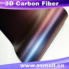 Water transfer vinyl sticker Unti-Uv sticker protect car body 3d carbon fiber car wrap