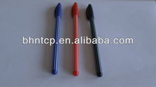 BHNPP4484 Office & School Supplies Cheap Promotional Gifts Plastic Stripe Ballpint Pen Good Qality