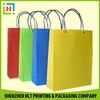 Popular professional gold hot stamping paper bag