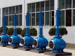 long stem ball valve