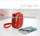 Fashion stylish blank card case with leather