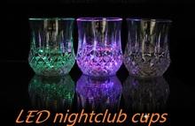 fancy flashing LED neon shot glass for night club, bar, parties