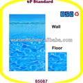 Médio- oriental shimmer completa estampados forro piscina