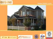(BY11-0038)Bisini Prefabricated Villa Design, Light and Reliable Prefab Steel House, Prefab House