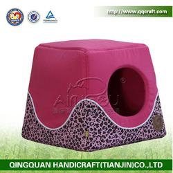 QQPET 2014 QingQuan plush / sponge dog house pet house (factory direct selling)