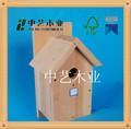 Personalizado de alta qualidade casa do pássaro de madeira kits para venda