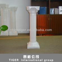 Fashion decorative plastic roman pillar for garden