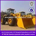 Marcas de ruedas zl60, Weichai del motor cat CE cargadora de ruedas zl60