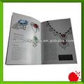 Grapa a5 vinculante con el catálogo completo- impresión