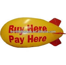 helium blimp,helium dirigible sky floating for advertisment