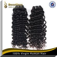 Hot sale natural looking virgin curly hair shine bresilienn hair extension