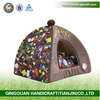 2014 QingQuan waterproof pet tent of oxford in best selling
