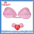 100 pcs/dúzia de coração em forma de balão de látex rosa