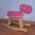 cavalo de balanço de brinquedo engraçado bebê brinquedo de pelúcia