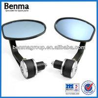 Motorbike Handle Bar Mirror ,Blue Glass Motorcycle Mirror