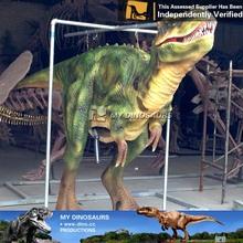 V31 Giant green dinosaur mechanical exhibition