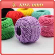 100% cotton mercerized crochet thread and yarn