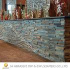 Slate ledge stone wall tile
