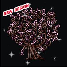 Rainbow star tree nailhead small size iron on sparkle designs FY 24 (10)