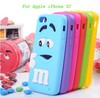 3d case for iphone 5c case with 3d flash image silicone case