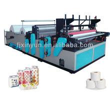 Automatic Toilet Tissue Paper Manufacturing Machine
