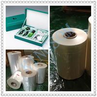 center folded pof shrink film for agriculture packaging