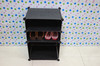 creative plastic shoe storage box diy storage shelf ,plastic storage cubes