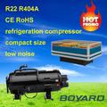 La venta caliente! Lanhai r404a unidad de refrigeración del compresor hitachi reemplazar el compresor scroll para mini profundo ensalada del congelador del