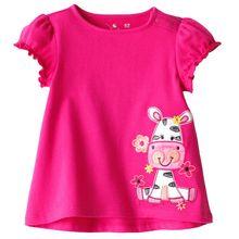 top fashion girls t-shirts new summer 2015 kids t shirts