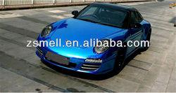 matte chrome red/ blue chameleon car color change wrap carbon fiber vinyl auto film vinyl skin sticker for ps3 slim