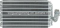 auto car aluminum copper tube fin solar evaporator