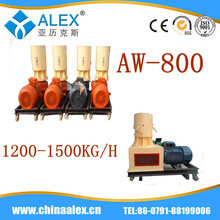 2014 full automatic electric pelletizing machine dry dog food pellet machine for sale
