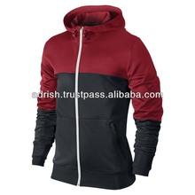 80% cotton 20% polyeseter french terry sleeveless hoody