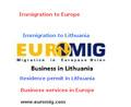 الهجرة إلى أوروبا، تأشيرة شنغن