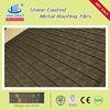SHINGLE stone coated steel roofing tile 1340*420mm(alu-zinc)