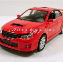 """RMZ city Subaru WRX STI Impreza 1:36 scale 5"""" diecast model car New Red R06"""