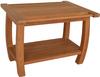 Grade A teak wooden comfortable shower bench safety for the elderly FSC approved