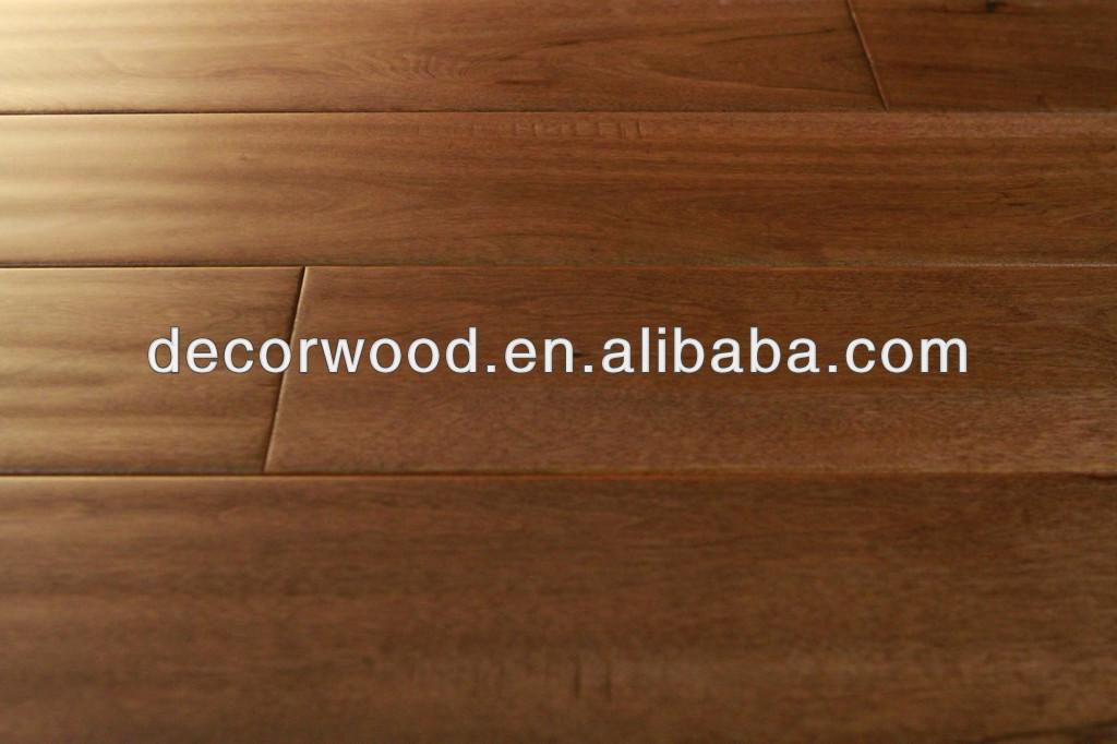 붉은 자작 나무 나무 바닥 handscraped 새벽 사막 색상-목재 바닥재 ...