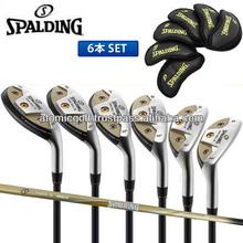 [golf iron] SPALDING golf HIGH BALL III iron set 6pc(5-PW) APOLLO original carbon shaft