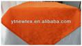 100% laranja poliéster jacquard toalha de mesa restaurante