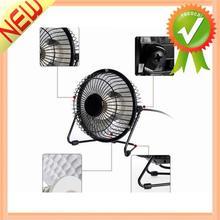 6 Inch Mini Fan Electric Warmer Heater Black