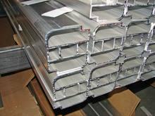 20 anos de alumínio fabricante de perfis de alumínio trilho de cortina