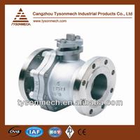 Tysonmech Hot Sale carbon steel floating ball valves