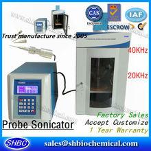Probe Ultrasonic Sonicator, Ultrasonic Homogenizer, Homogenizer, Tissue Homogenizer, Colloidal Silver Machine