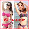 2014 O-KISS sexy nude hot bikini swimwear for women