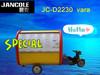2014 new food cart JC-D2230 motor hot dog/pizza trailer food with big wheel towed bar food cart