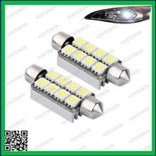 Honteinkin!8SMD LED CANBUS 214 569 Interior Bulb Light 42mm